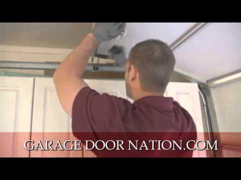 how to replace garage door rollersHow to Replace Garage Door Rollers  Where to Buy Them  YouTube