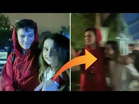Annie LeBlanc & Hayden Summerall SPOTTED On Date Together; Hayden Puts His Arm Around Annie