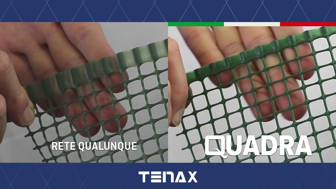 Rete Plastica Da Balcone.Rete Protettiva In Plastica Tenax Quadra L Originale Dal 1968 Youtube