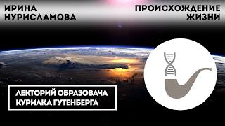Ирина Нурисламова - Происхождение жизни - эволюционная химия как начало пути