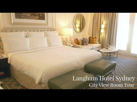 Langham Hotel Sydney Room Tour - Five Star Hotel - Lux Life