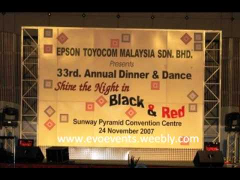 Annual dinner theme decoration youtube for Annual dinner decoration