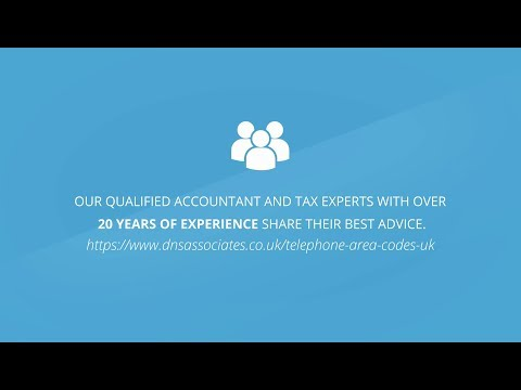 Telephone Area Codes UK| DNS Accountants