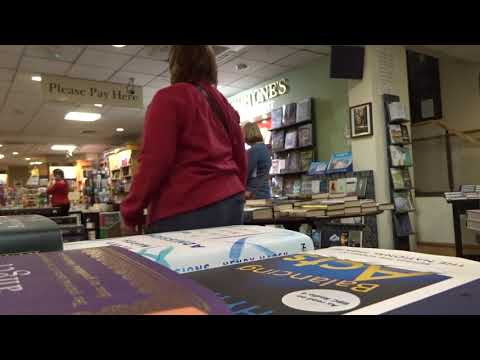 Make Room (extract) at Waterstones, Exeter