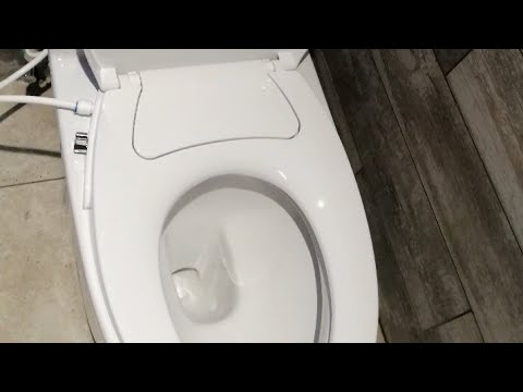 How To Install American Standard(toilet Bowl) Fairfield With Bidet Seat Cover