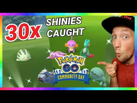 Download 30x SHINY POKEMON CAUGHT in 2 HOURS! DECEMBER COMMUNITY DAY EVENT in Pokemon Go!