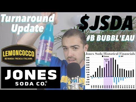 Jones Soda Turnaround Update