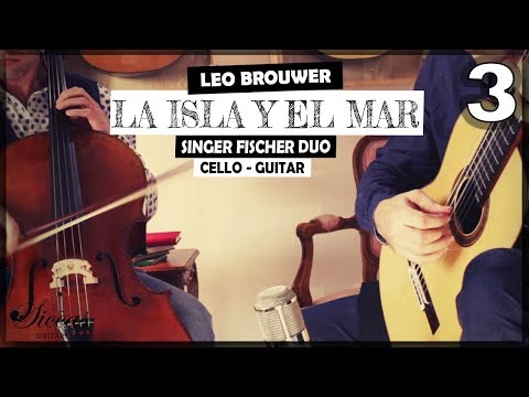 Duo Singer Fischer plays La Isla y el Mar 3. Movement - Inmenso Mar de Agua y Fuego by Leo Brouwer