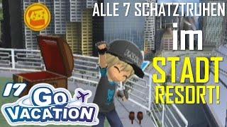 ALLE 7 SCHATZTRUHEN IM STADTRESORT! - Wii Go Vacation (Let