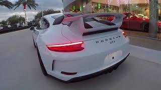2018 991.2 Carrara White Porsche 911 GT3 500 hp @ Porsche West Broward