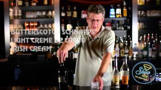 How to make a Butternuts | Butterscotch Schnapps | Light Cream De Cacao | Irish Cream Recipe