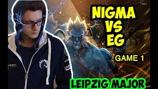 Nigma vs EG Miracle vs Arteezy | Game 1 Dreamleague 13 Leipzig Major