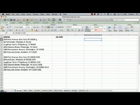 How to Extract the Zip Code in Excel With a Formula : Microsoft Excel Tips