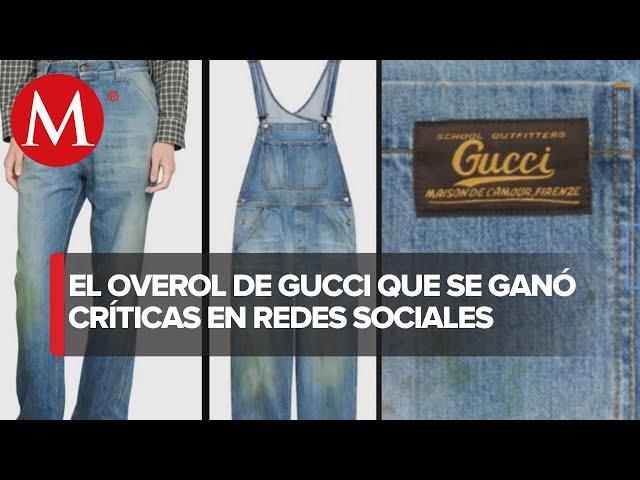 Critican A Gucci Por Vender Pantalones Manchados A Casi 30 Mil Pesos