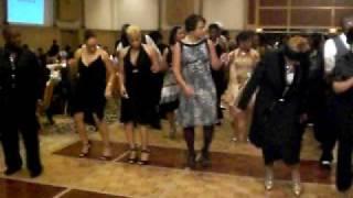 """L-Jet, Instructors Ball - """"Super bad"""" line dancing"""