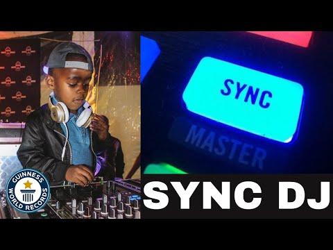 DJ ARCH JNR EXPLAINS WHAT A SYNC DJ IS (5yrs Old)