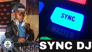 DJ ARCH JNR EXPLAINS WHAT A SYNC DJ IS (5yrs Old)