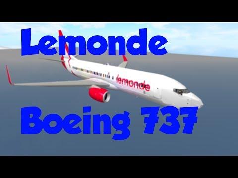 ROBLOX || LeMonde Airlines Boeing 737 Flight!