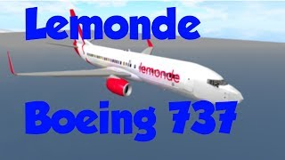 ROBLOX || LeMonde Airlines Boeing 737 Flight!