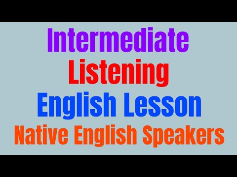 Intermediate Listening English Lesson with Native English Speakers ★ Learn English While You Sleep ✔