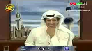 معجبة كويتية تخطب مذيع على الهواء مباشرة