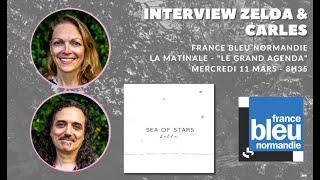 Interview de Zelda & Carles - LE GRAND AGENDA   FRANCE BLEU NORMANDIE - 03 11 2020
