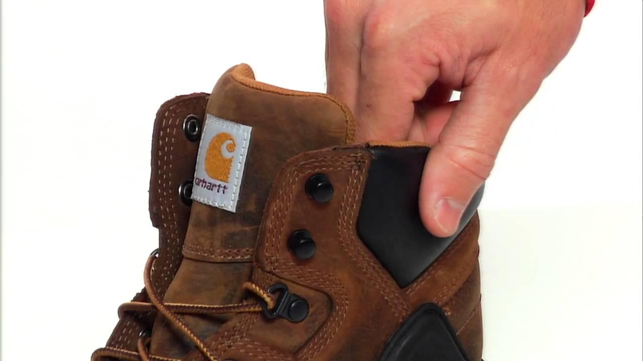 642f896e6cb Carhartt Men's 6 in. Waterproof Soft Toe Work Boots by AltrecOutdoors