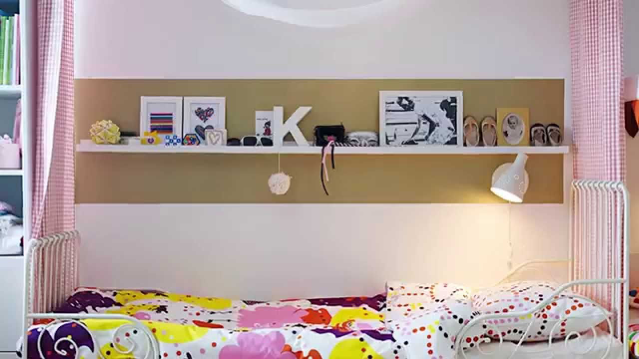 Clever Bedroom And Storage Solutions For Kids Ikea Australia Youtube