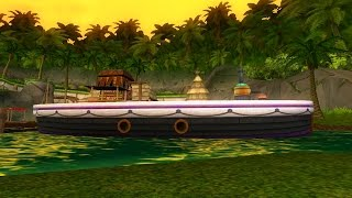 Wizard101: NEW Jungle House Boat Tour