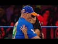 John Cena And Nikki Bella Kiss On Smackdown Live video