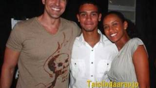 Reencontro  de Taís Araújo, Reynaldo Gianecchini e Sérgio Malheiros