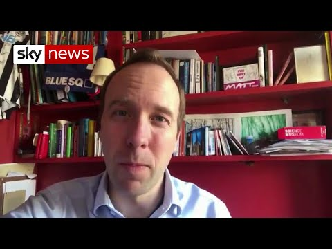 Health Secretary Matt Hancock tests positive for coronavirus