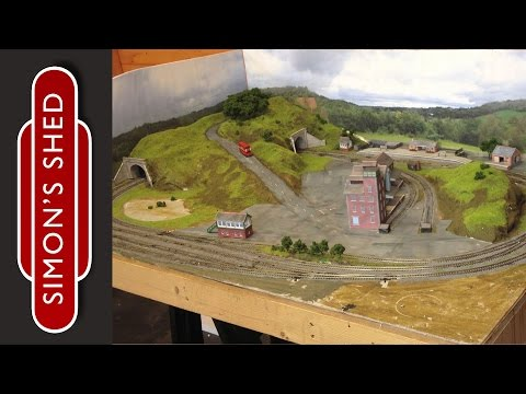 N Gauge Model Railway Layout Update: Bodenham Woods 10