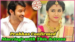Not with Anushka, Prabhas is Getting Married with Another Actress