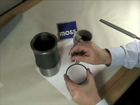 Piston Rings - How to Install