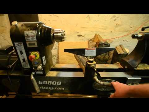 Grizzly G0800 wood lathe review
