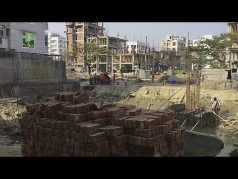 [HD] Realestate Construction Sites Of Dhaka