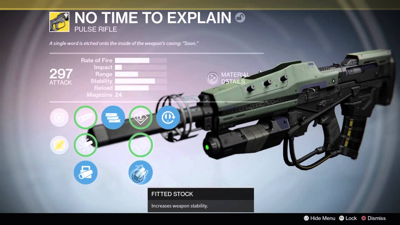 Destiny Weapon Guide: Primary Weapons (Auto Rifles, Pulse ...