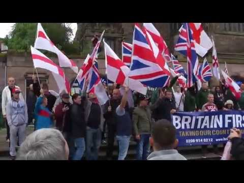 Britain First - Day of Action (Pt 2 of 3) - Rotherham Town Centre 6/9/14