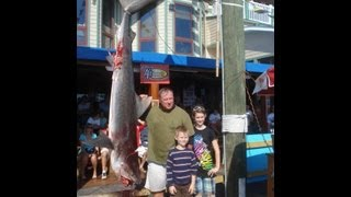 Destin Fishing Rodeo Shark Saturday and Mako My Day Winner Big Tiger Shark