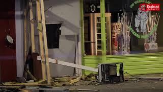 (VIDEO) 01-11-2018 Plofkraak geldautomaat winkelcentrum Oosterhout