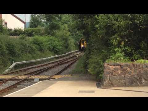 Trains at Llanrwst North