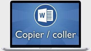 Tutoriel Word 2013 - Faire un copier coller et ses options avancées