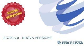 Presentazione della nuova versione 8 di EC700