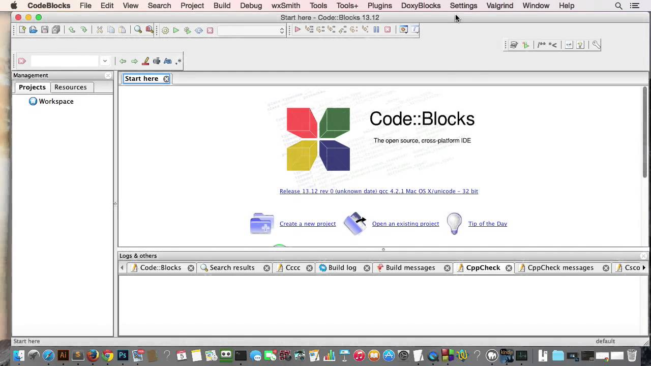 codeblocks mac