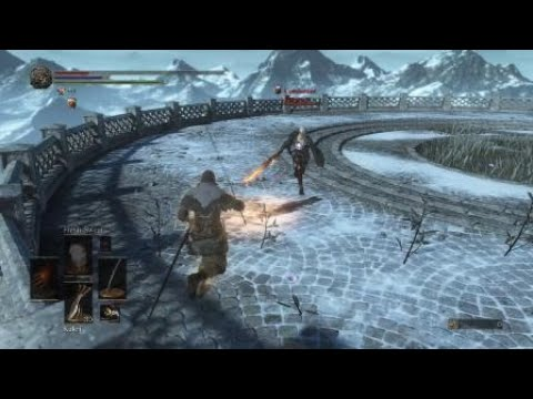 From Software should've left healing spells out of the Darksouls 3 dueling arena .....