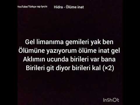 Hidra-Ölüme Inat Lyrics Video