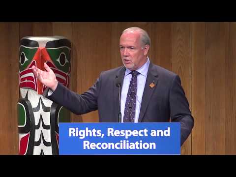 BC Cabinet and First Nations Leaders' Gathering 2017 - Opening Remarks
