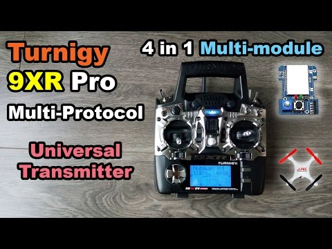 Turnigy 9XR Pro: 4in1 multi protocol module all in one radio transmitter