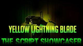Roblox Script Showcase Episode#748/Yellow Lightning Spinning Blade